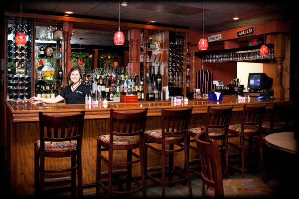 Salvatori's West location offers a full-service bar