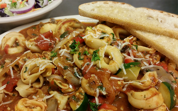 Latest Featured Entree - Tortellini Marsala